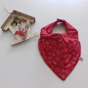 Babador Bandada Duplo com Barreira Impermeável - Vermelha