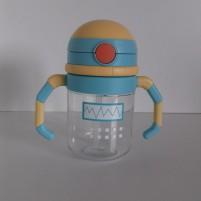 Copo de Treinamento Infantil Bebê Linha Robot Siprianni - Amarelo