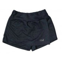 Shorts Saia Jeans Bebê Menina Verão