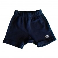 Shorts Saruel  com Barra Dobrada Azul Marinho
