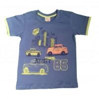Camiseta Carrinho N.Y.City Menino Verão Manga Curta