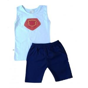 Conjunto Regata Super Herói  Menino Verão